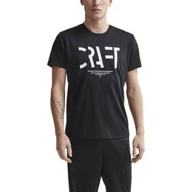 Craft Eaze T-shirt à maille Homme, black/white